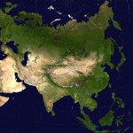 Евразийг хиймэл дагуулаас харахад Т Азийн Тэгш Өндөрлөгт цөлжилт эрчимжиж Монгол улс бүхэлдээ Африк шиг болох нь http://t.co/EPRdEYeB4A