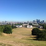 This view made for a very worthwhile run this morning. #Greenwich #London http://t.co/PEkzeafDOX