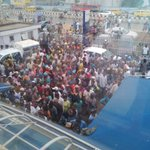 """@Xammy_Yung: BVN palava, ds crowd pass project fame audition.I dnt knw y Nigerians will need 2wait till d last day http://t.co/ePKwiNJFFb"