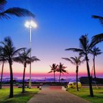What a magical sunrise #Durban http://t.co/bMQdjlPkwc