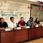Чөлөөт нислэгийн #ДАШТ2015 хэвлэлийн бага хурал амжилттай болж өндөрлөлөө #МЗХ @munkhbat_a @Shinekhvv @Erdenebat88 http://t.co/dGO1TQEtXl
