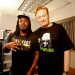 Backstage @ #CONAN: @MoneyLynch & @ConanOBrien http://t.co/Ia4nSqv7Hv