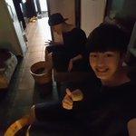[TH]@BTOB_6SJ : ผมมานวดไทยกับปือเนียลปือเนียลฮยอง เดี๋ยวเจอกันที่แฟนไซน์นะครับ http://t.co/46xCoGcHHt