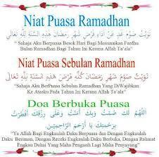 Hukum Mengucapkan Niat Puasa Ramadhan - AnekaNews.net