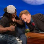 Watch @TeamCoco tonight as @ConanOBrien dares @MoneyLynch to punch him right in his amazing coif (not exactly). http://t.co/6Lh4YvN8BN