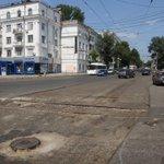 На Мичурина ремонтируют дорожное полотно с рельсами http://t.co/9V3PfwgJ5j #Самара #АвтоСамара http://t.co/ARYykgeGho