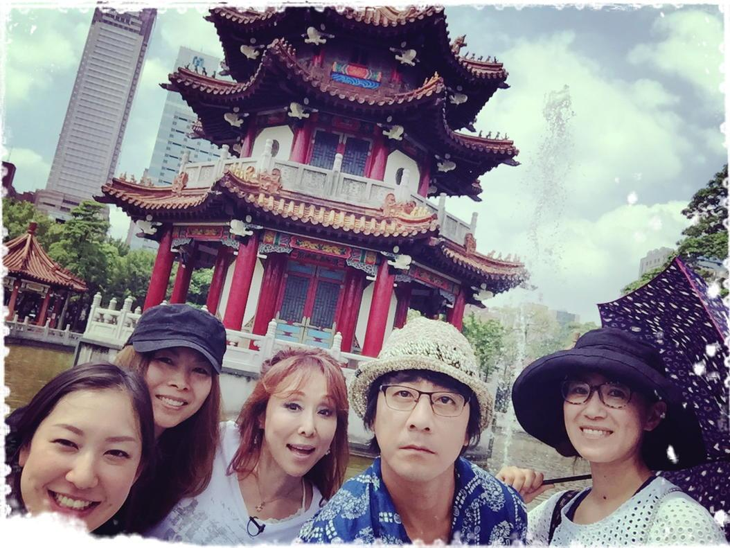 J:COM  AugustaMusic TV@台湾 撮影順調だが。 晴れるにもほどがある。 ヤマは、やっぱり晴男 あぢー!!! http://t.co/abXh4DxW8L