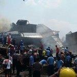 Turut prihatin dan berduka cita atas musibah jatuhnya pesawat Hercules TNI AU di Medan siang ini (30/6) http://t.co/sCJ3fTAV32