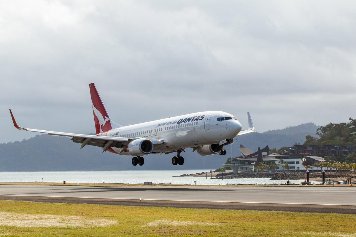 The inaugural Melbourne to Hamilton Island flight touched down on Saturday. Book your escape: