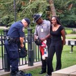 #BreeNewsome opens up about taking down Confederate flag on SC State capitol grounds: http://t.co/OBoS3mxfCs http://t.co/gxust1ktTC
