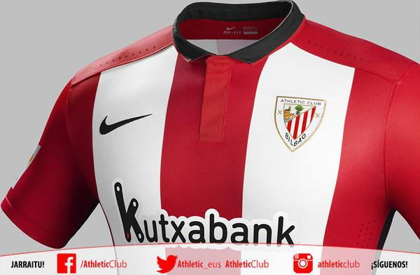 El Athletic de Bilbao presenta su NUEVA CAMISETA para la temporada  2015-2016.   80d0c9597dec7