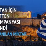 Yunanistan için Bağış kampanyası başlatılmış Sevinmiyorum Üzüldüm Bir Ülkenin düşebileceği en korkunç durum http://t.co/4VRAW4mvAO
