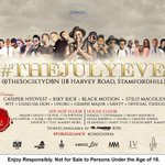 The July Eve this Friday! Durban Society!!! We going all the way up with this one!!!! Cant wait http://t.co/gA4MMPrNyx