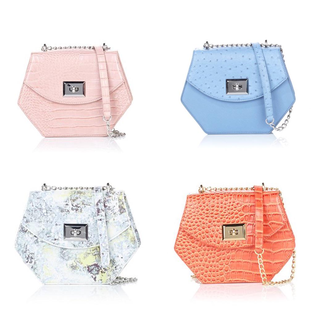 Obsessed with our new Bianca! In summer colors that will instantly update your wardrobe @HSN #snobessentialsbags http://t.co/vWm9tcyQeE