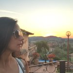 #sunset #selfie in beautiful peaceful #Tuscany…Our #TarasTravelDiaries series https://t.co/mrQ7Ad9k0v pls subscribe