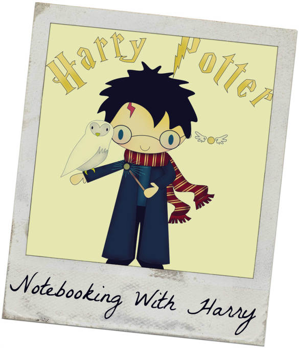 FREE Harry Potter Notebooking Pages ---> Harry & Friends!