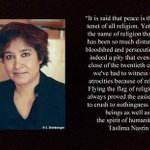 RT @Womenwthoutrlgn: Religion, an excuse to treat others badly. @taslimanasreen #atheist #AtheistRollCall #atheism