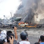 [TheTrent] BREAKING: 30 Killed As Military Airplane Crashes In Indonesia (SAD PHOTOS, ... http://t.co/iYCzg162VS http://t.co/tuZKM26VkC