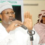 INEC Chair, Attahiru Jega, and 6 National Commissioners of INEC will today officially end their tenure #CelebrateJega http://t.co/BcnK0V2klD