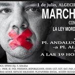 En la rueda de prensa presentando marcha contra #LeyMordaza en #Algeciras @psoedealgeciras http://t.co/7YffbBUBPT