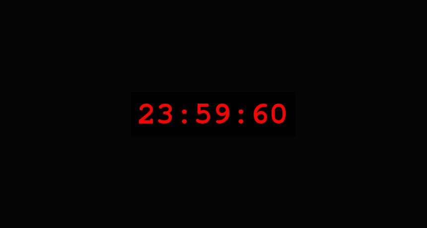 Today really is a second longer. Here's why: http://t.co/ZlXv63RHjM #leapsecond http://t.co/fclDn7Tgk0