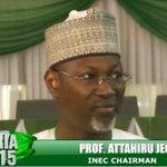 #CelebrateJega – Attahiru Jega in photos. Thank you sir for a job well done. http://t.co/9gWIhiEI2m http://t.co/NliMSbazzR