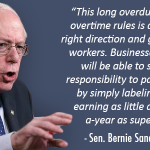 This long overdue change in overtime rules is a step in the right direction and good news for workers. http://t.co/y3tMCfYc1H