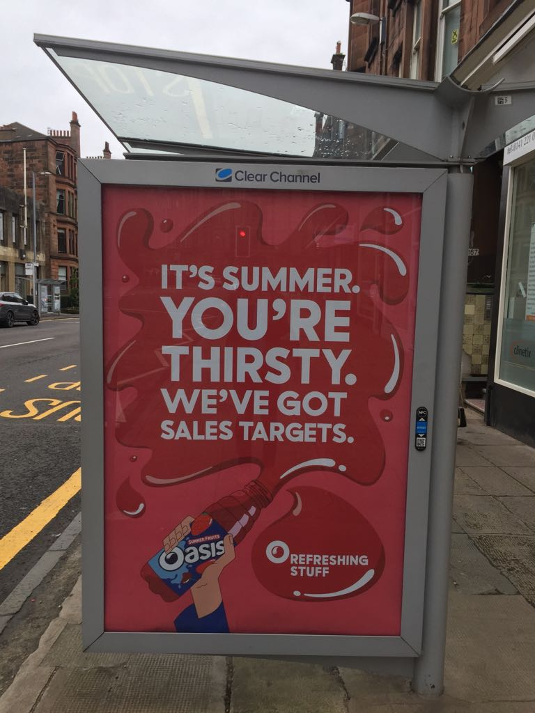 I love a bit of honesty in advertising :) RT @govindajeggy This made me laugh http://t.co/3csO2vu2rM