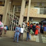 Last minute rush by customers for Bank Verification Number (BVN) at various banks in ABUJA http://t.co/0OSNJad6dg