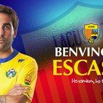 Alberto Escassi, el primer fitxatge. Benvingut, Alberto! https://t.co/fPuUG2IHnP http://t.co/4HiweWeqGK