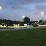 Law enforcement and emergency responders beginning to arrive for Sgt. Kelleys funeral #liveonkeye http://t.co/NpvArow3la