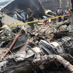 At least 62 people on plane that crashed in Medan, killing at least 38 - Indonesian military  http://t.co/3zAG7aC4yR