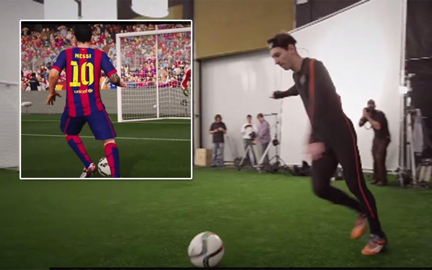 Messi gambetea para el FIFA 16