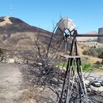 Windmill shows how the wind is still blowing in Wenatchee and the #SleepyHollowFire http://t.co/2CJD5LnITg