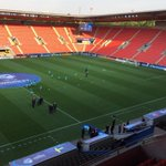 Portugal players out on the pitch #U21EURO http://t.co/3STyMr7dMw