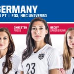 Its gameday in Montreal! #USAvGER kicks off tonight at 7pm ET on @FOXTV. #SheBelieves, do you #Believe? #1N1T http://t.co/g5TnEDoMki