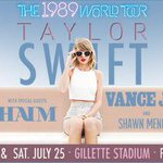 RT & follow us to enter to win tix to @taylorswift13s SOLD OUT 1989 Tour!  #SMdayGSgiveaway http://t.co/lAYZ79QX0L http://t.co/x2cLDoegQH