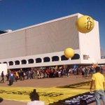 Estamos em #Brasília para a marcha contra a redução da maioridade penal! #ReduçãoNãoÉSolução http://t.co/oNZc2zjGyg