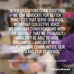 Coming together provides a #VoiceForAll. We hope #SCOTUS can understand that. http://t.co/Ftesc4RoM2
