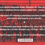 RT, jos #stadionpunainen ja HIFK merkitsee sinulle enemmän kuin perhettä! #StadinDerby #Veikkausliiga #HIFK http://t.co/X5ipHHyYQO