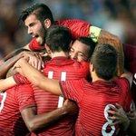 hoje é #DiaDeSub21, Portugal vai parar para vos ver. Somos 11 por todos e todos por 11. Orgulho ????????❤️❤️ http://t.co/myA9BVbIox
