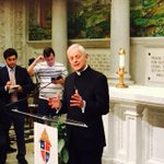"Breaking: ""this isnt just an official visit ..hes our spiritual leader"" Cardinal Wuerl on Pope Francis visit @wusa9 http://t.co/7CeIhD4fuT"