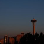 The moon over #Seattle last night! http://t.co/Z32OPSNDCj