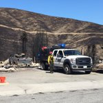 Fire crews are still here in neighborhood leveled by #SleepyHollowFire @KIRO7Seattle http://t.co/d7P6rW3tPo