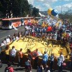 AGORA: Marcha na Esplanada contra a redução da maioridade penal (Fotos: Julio Cesar Oliveira) #ReduçãoNãoÉsolução http://t.co/JJ6wFMoXzm