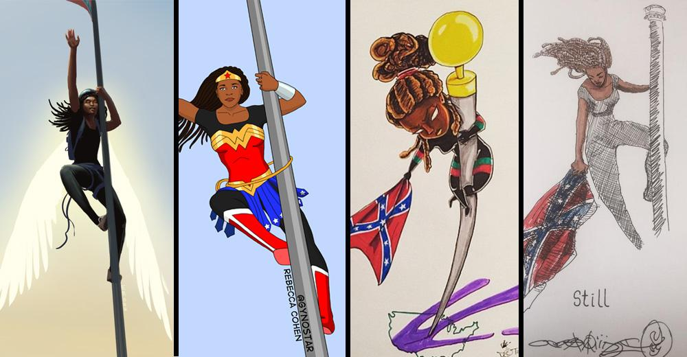 The BEST Bree Newsome Tributes: http://t.co/eLDN4ET8o7 http://t.co/XaPXWuagnD