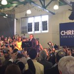 Christie takes the stage with his family to announce for president http://t.co/ZfMarARadW