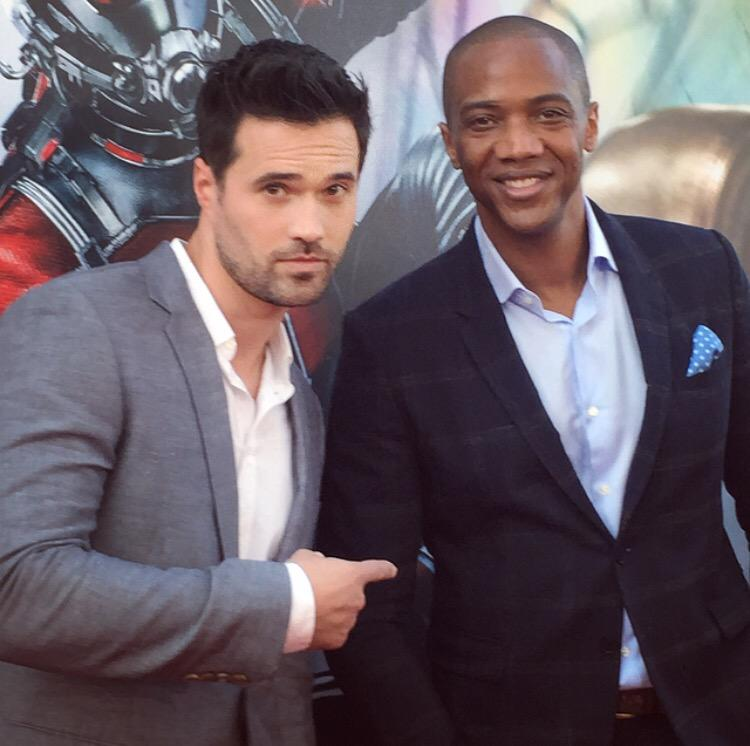 #ANTMAN antics with @IMBrettDalton... http://t.co/5KqU4uj68K