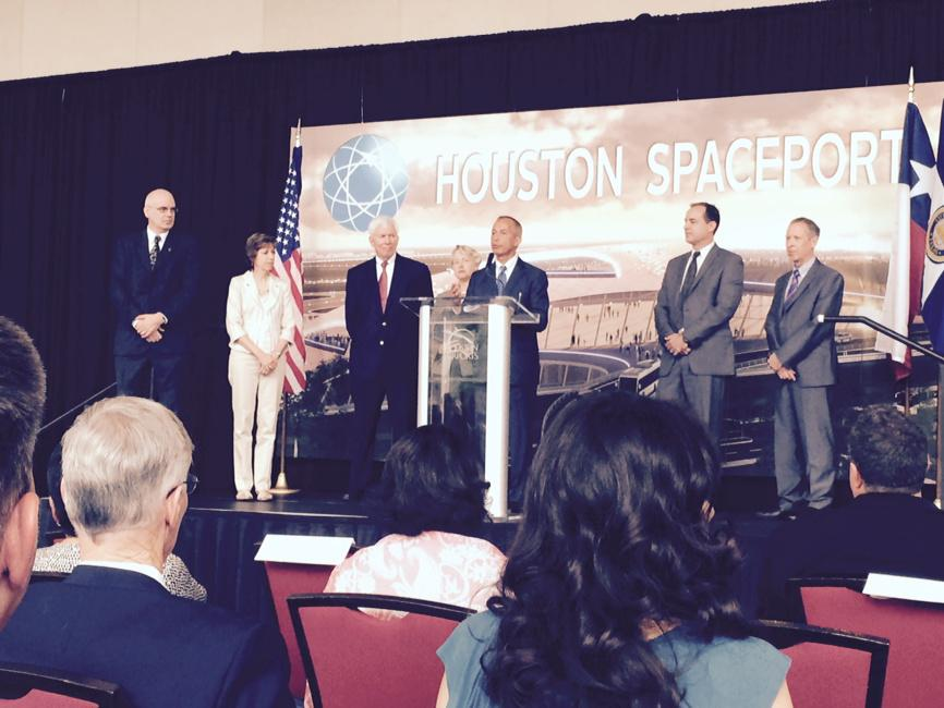 HoustonSpaceport 10th licensed commercial spaceport