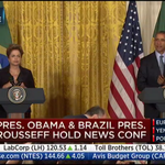 LIVE NOW: Pres. Obama & Brazil Pres. Rousseff hold news conference at the White House » http://t.co/KXWKKJFejI http://t.co/NOSu8anxIS